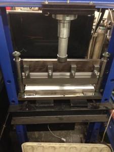 press-brake build finished